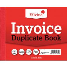 Silvine Duplicate Invoice Book 616