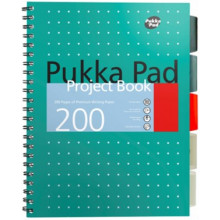 Pukka A4 Metallic Project Book 200 Pages