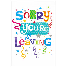 Cards Word Play 26354 Sorry Leaving