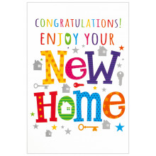 Cards Word Play 26355 New Home