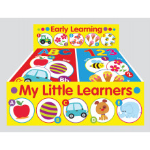 My Little Learner Books ABC/123 - 2 Assorted