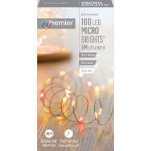 XD03606 100 LED Red/VtgGold Microbrights