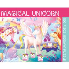 100pc Jigsaw Puzzle Magical Unicorn