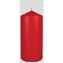 XD05607 Pillar Candle Red 7x15cm