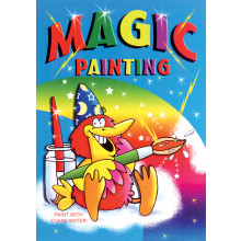 Magic Painting Book A4 8 Pages 4 Asst