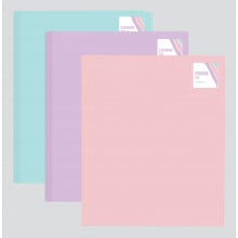 A4 Pastel Expanding File 20 Pockets