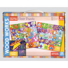 "Floor Jigsaw Puzzle 18"" x 18"" 2 Assorted"