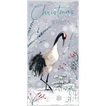 XD00502 10 Slim Winter Walk Xmas Cards