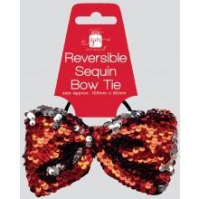 Reversible Sequin Bow Tie