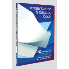 A4 Presentation/Display Books 20 Pockets