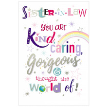 Cards Word Play 27238 Sister in Law