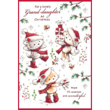 Nannie Cute 50 Xmas Card