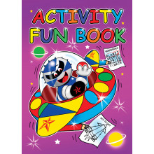 A4 Activity Fun Book 40 Pages 4 Assorted