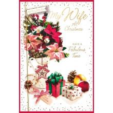 Mum Trad 75 Xmas Card