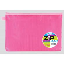 A4+ Super Strong Bright Zip Bags Asstd