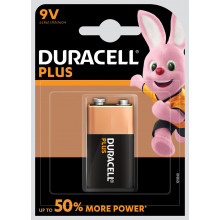 Duracell Plus 9V Batteries Pack 1