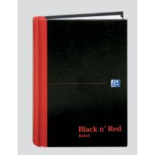 S2803 A5 Black'N'Red Book Feint E66857