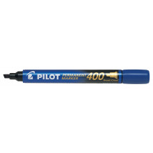 Pilot 400 Blue Wedge Tip Marker