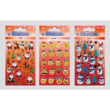XD05211 Christmas Stickers Assorted