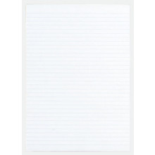 Ruled A4 Feint Memo Pad 80 Sheets