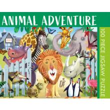 100pc Jigsaw Puzzle Animal Adventure