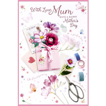 Mothers Day Cards Nanna Traditional 50