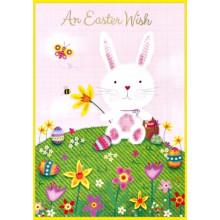 Easter Cards Open Juvenile Girl