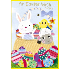 Easter Cards Open Neutral Juvenile 50