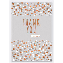 Cards Word Play 28154 Thank You Spots