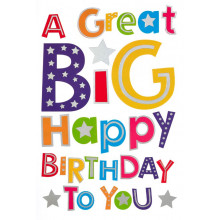 Cards Word Play 28155 Open B/day Bright