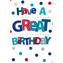 Cards Word Play 28157 Open Birthday Male