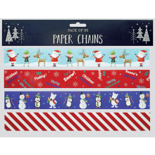 Paper Chains Santa & Friends Pack 36