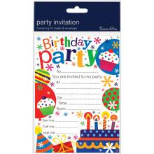 Invitation Pads Birthday Cake 20s HP101