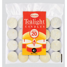 Tealights White Candles 20 Pack