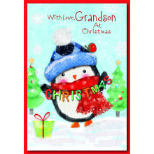 Grandson Juv 50 Christmas Cards