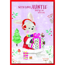 Auntie Juv 50 Christmas Cards