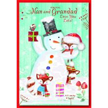 Nan+Grandad Juv 50 Christmas Cards