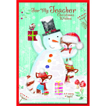 Teacher 50 Christmas Cards