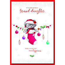 Gr-daughter Cute 50 Christmas Cards