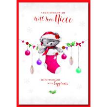 Niece Cute 50 Christmas Cards