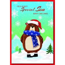Son Cute 50 Christmas Cards