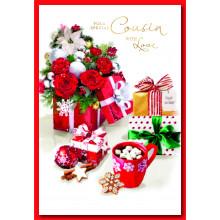 Cousin Fem Trad 50 Christmas Cards