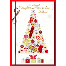 Daughter+Son-I-Law Trad 50 Christmas Cards