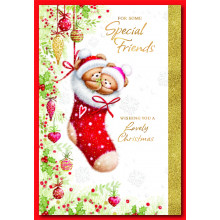 Special Friends Cute 50 Christmas Cards