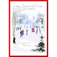 Across the Miles Religious 50 Christmas Cards