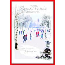 Special Friends Religious 50 Christmas Cards