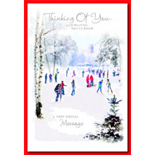 Thinking Of You Religious 50 Christmas Cards
