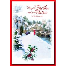 Bro+P'ner Tr 50 Christmas Cards