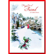 Friend Male Trad 50 Christmas Cards