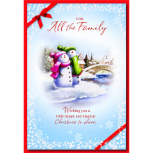 JXC0833 To All Family Ct50 Christmas Cds